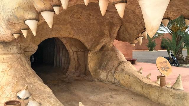Entrée du Crocoparc d'Agadir