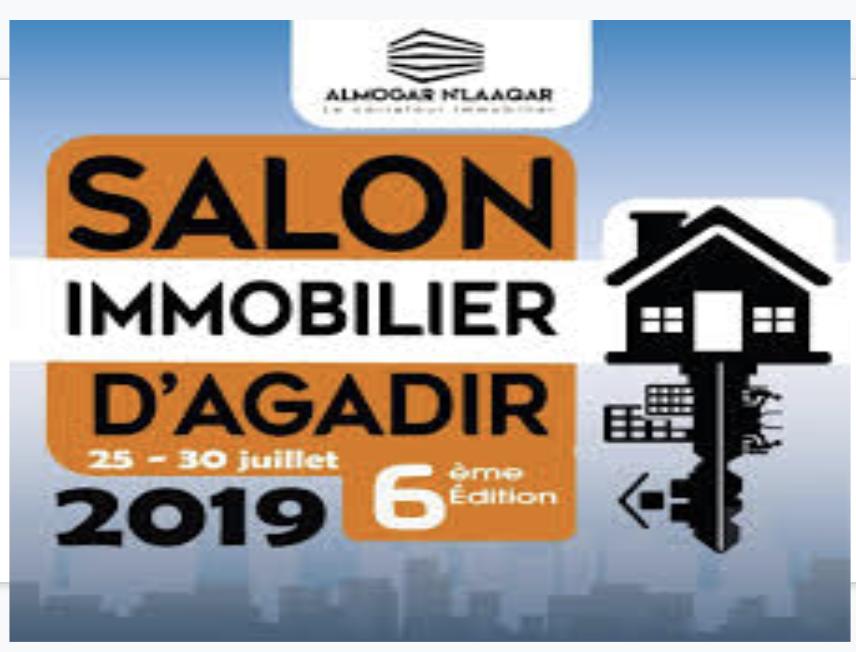 Évènement Salon immobilier Agadir Almogar N'Laqqar